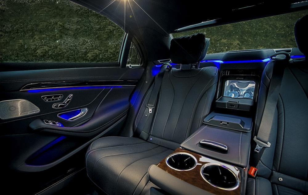 Billede fra bilen